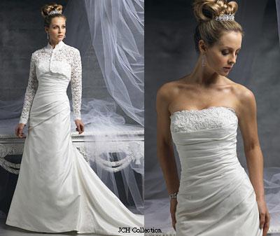gaun pengantin lace bolero wedding gown