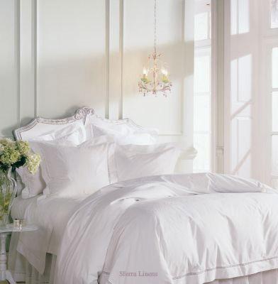 kamar tidur putih buat pegantin, white bed linen
