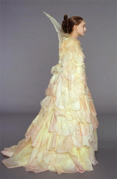 Star Wars Queen Amidala dress inspiration for a wedding