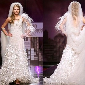 Wedding accessories long veil aksesori pengantin layah labuh kerudung panjang