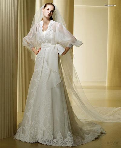 Baju pengantin ala sepanyol La Sposa Spanish goyesca inspired wedding dress