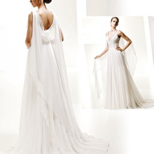 Baju pengantin labuh Pronovias wedding gown