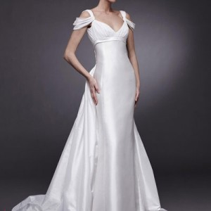 Baju pengantin Peter Langner wedding dress with sleeves