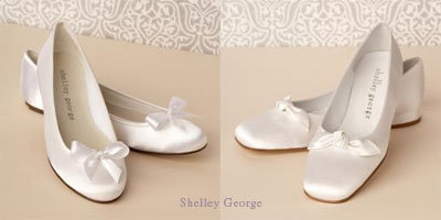 Bridal Pumps on Flat Ballet Pumps Wedding Shoes  Kasut Pengantin Tumit Rendah