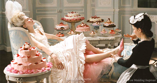 Laduree pastries, macarons(macaroons) and cakes featured in Marie Antoinette