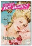 Sofia Coppola's Marie Antoinette starring Kirsten Dunst DVD cover