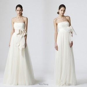 Vera Wang Wedding Dress Spring 2010 collection
