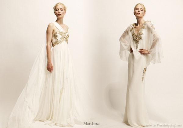 Marchesa evening gowns wedding inspirasi for Evening gown as wedding dress