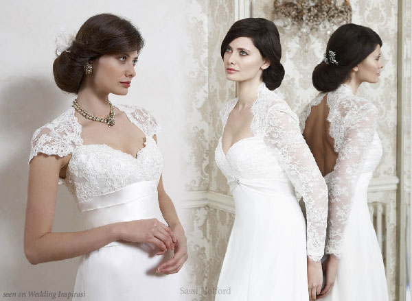 Elegant Lace Wedding Gowns 2011