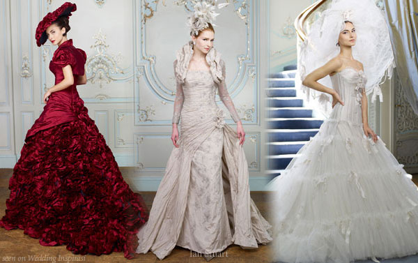 Wedding Dresses With Hats