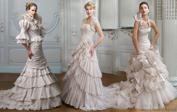 It S Full Of Ruffles My Fair Lady Wedding Gowns By Ian Stuart