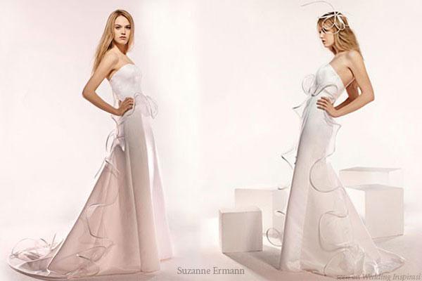 Robes de mariee Suzanne Ermann wedding gowns