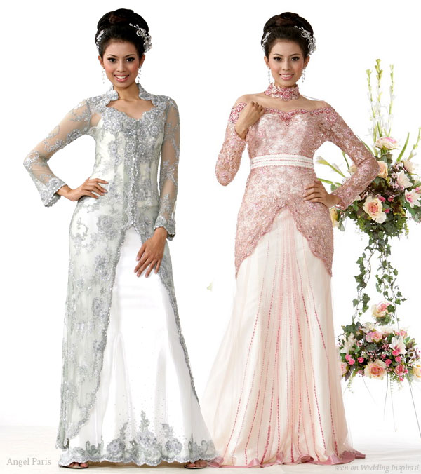 Butik Angel Paris - robes de mariee, kebaya pengantin indonesia
