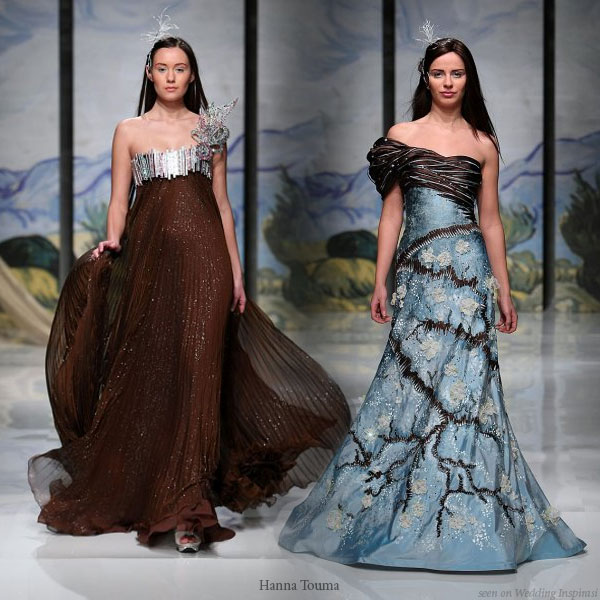 Blue And Brown Dresses For A Wedding | Wedding