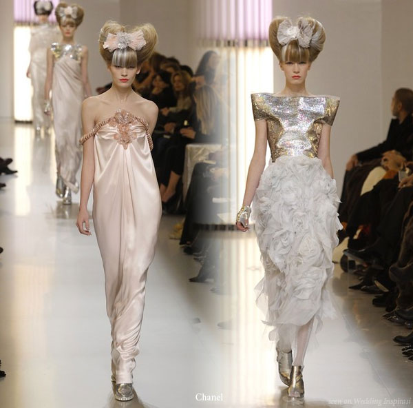 Karl Lagerfeld for Chanel Haute Couture Spring Summer 2010 at Paris Fashion