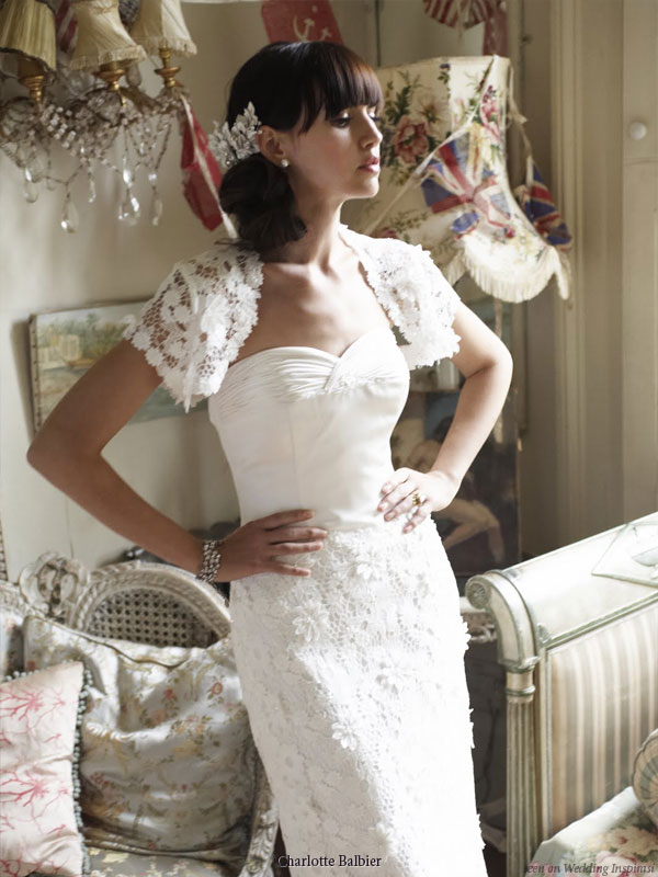 Charlotte Balbier UK 2010 boutique collection wedding dress