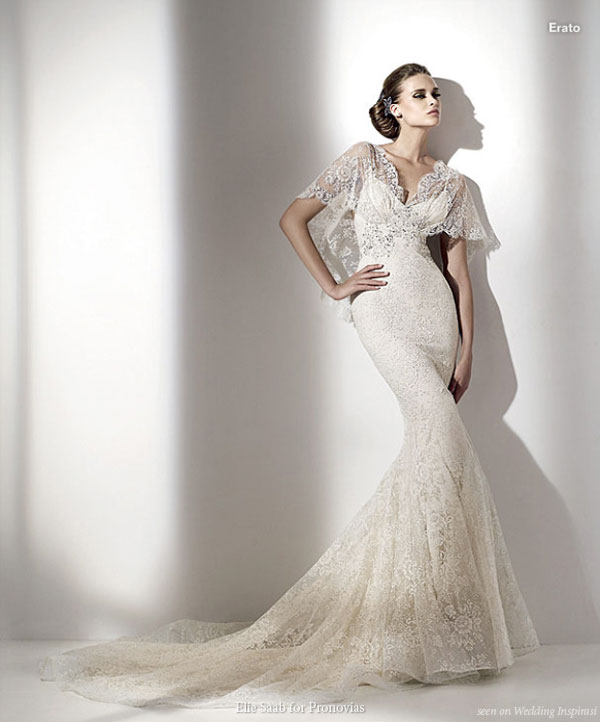 Elie by Elie Saab for Pronovias 2010 bridal collection - lace wedding dress