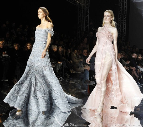 Elie saab spring summer 2010 haute couture wedding inspirasi for High fashion couture dresses