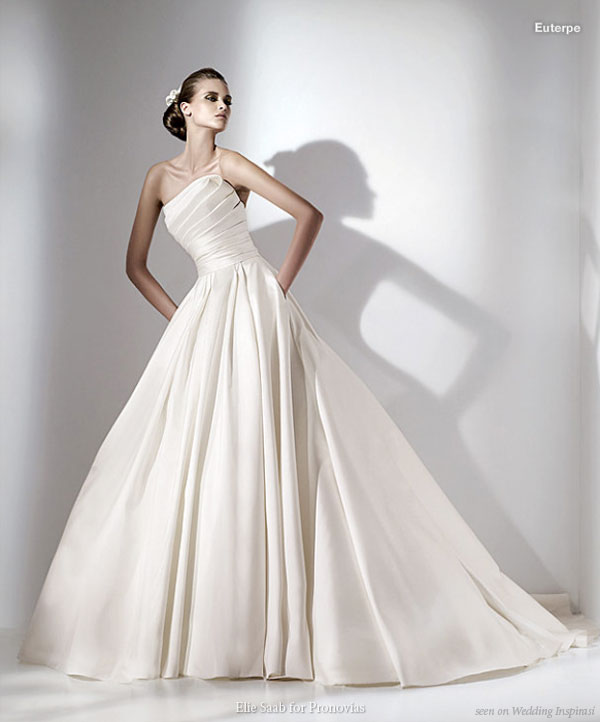 Elie By Elie Saab For Pronovias 2010 Wedding Collection