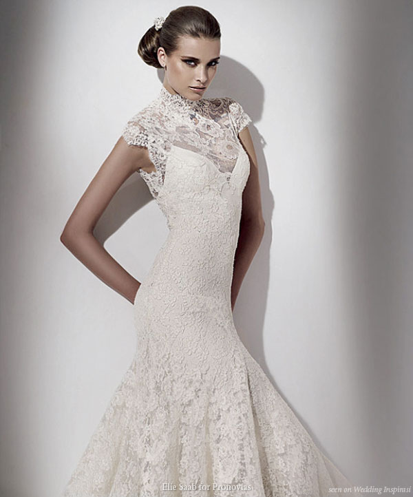 Elie Saab for Pronovias 2010 bridal collection lace wedding dress Ceres