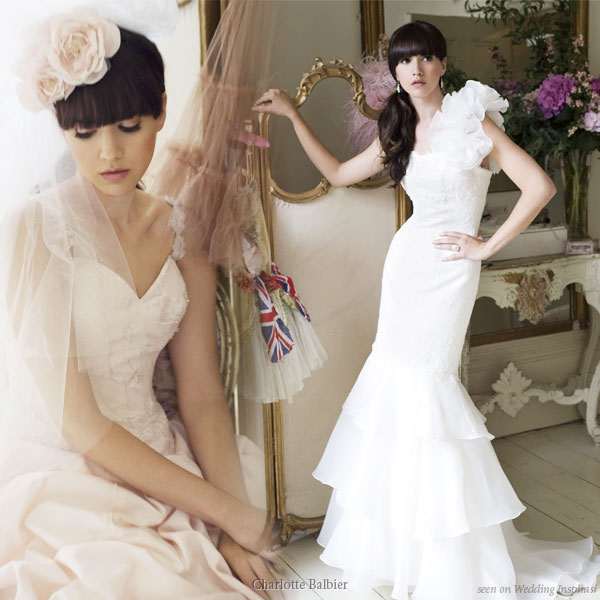 Puffy Wedding Dresses. Adorable short wedding dresses