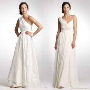 Elio berhanyer 2010 bridal collection wedding inspirasi for Toga style wedding dress