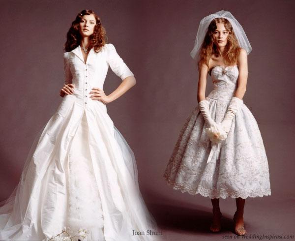 Joan Shum Corset Wedding Dresses