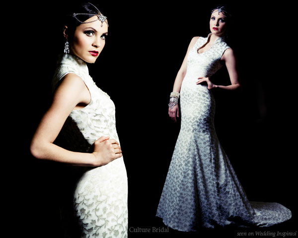 Culture Bridal Couture Fusion Wedding Wear | Wedding Inspirasi