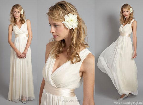 свадебные платья в греческом стиле 2012.