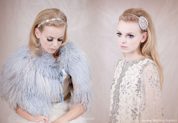 Hair bands for the blushing bride from ban.do