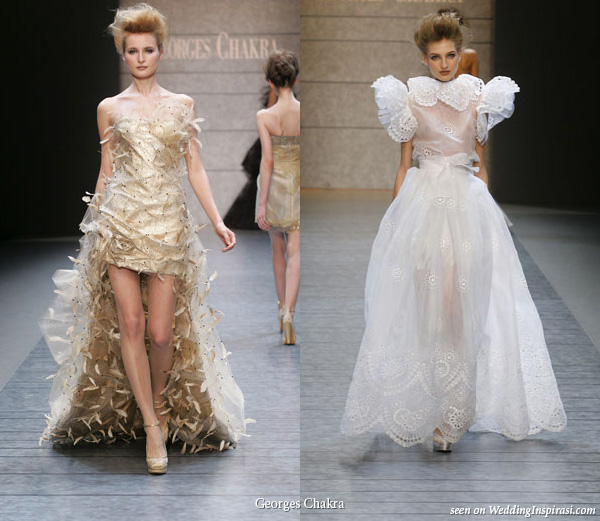 Georges Chakra Spring Summer 2010 Evening And Wedding Dresses