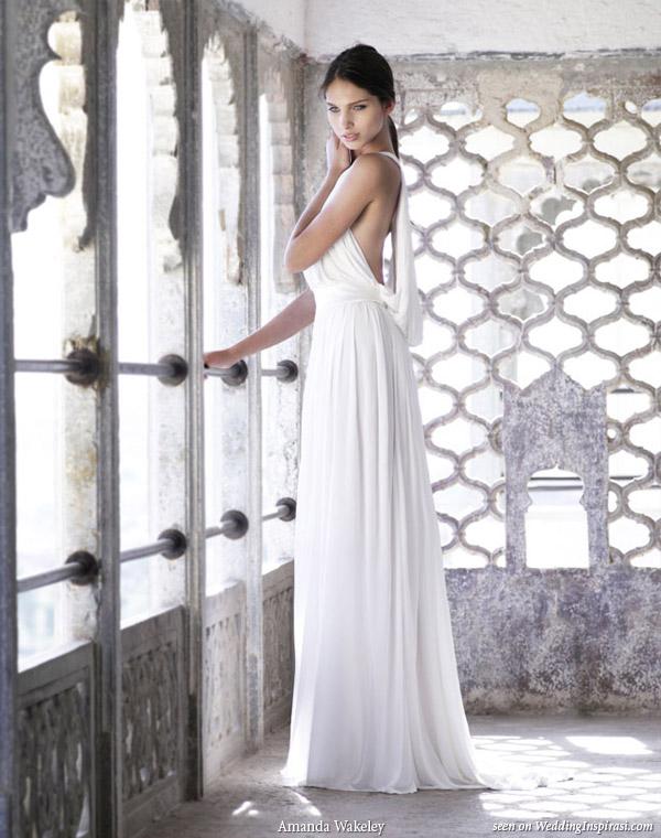 Beautiful Rajasthan   Amanda Wakeley Sposa Superfine Jersey Dress Wedding Gown