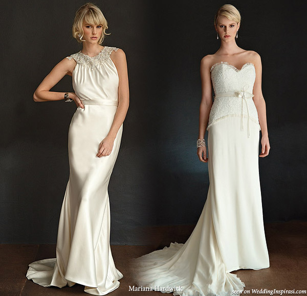Mariana Hardwick wedding dresses - Bride Nouveau collection