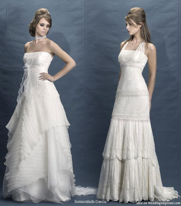 Inmaculada Garcia 2010 Brides Collection