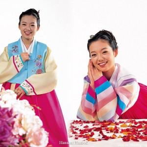 Hanbok - traditional korean corean costume