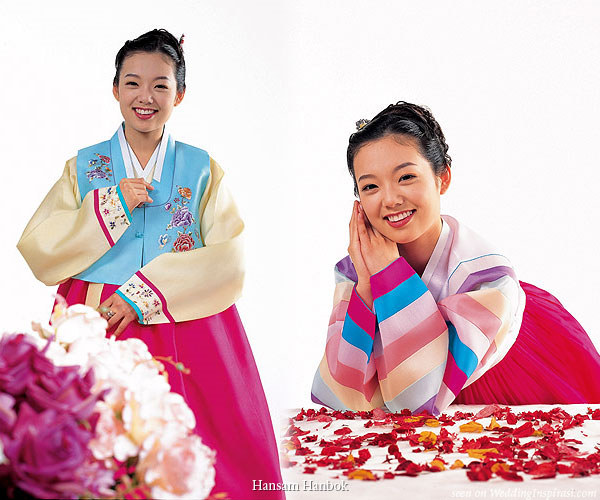 f6744ce3986 Hanbok - traditional korean corean costume. The colorful traditional Korean  costume is called ...