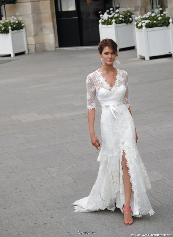 Cymbeline paris 2010 bridal collection wedding inspirasi for Wedding dresses in paris france