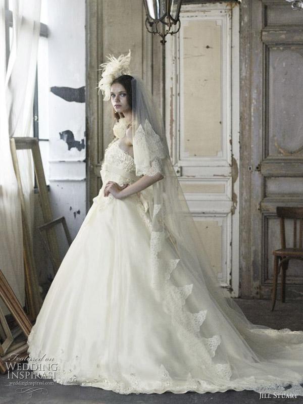 Romantic Wedding Dresses By Jill Stuart Wedding Inspirasi