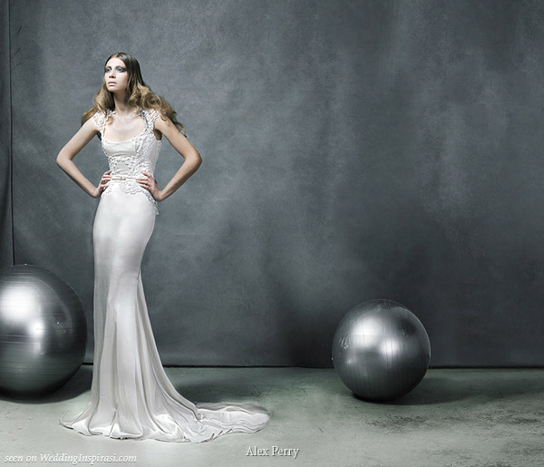 Sleek Wedding Gowns: Alex Perry Ready To Wear Bridal Collection