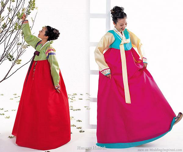 Korean Traditional Dress for Wedding
