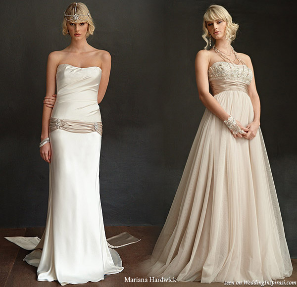 Wedding dresses from the Bride Nouveau bridal collection from Mariana Hardwick