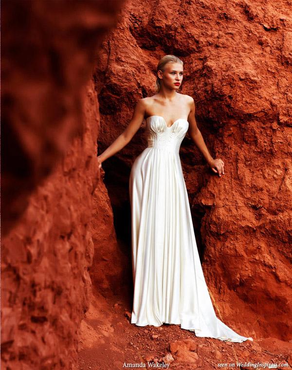 Exotic bridal beauty: Amanda Wakeley Morocco wedding dress
