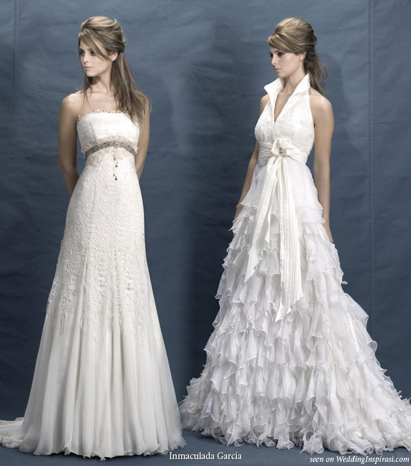 Spanish Wedding Dresses: Inmaculada García 2010 Brides Collection