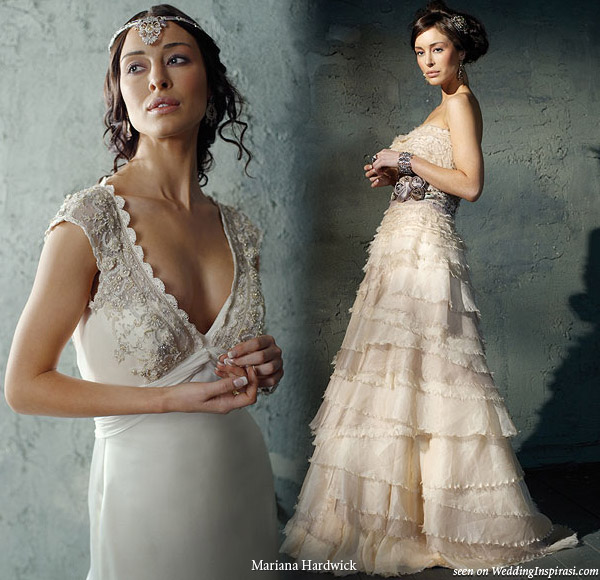 Wedding dresses from Mariana Hardwick heirloom collection