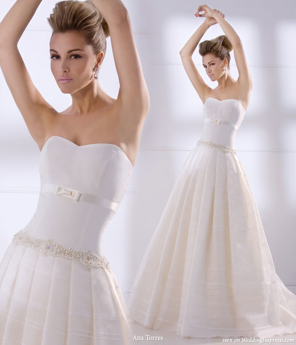 Ana Torres Wedding Gowns from 2010 bridal collection