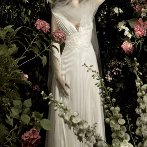 Garden of earthly delights - wedding dress from Blumarine 2010 bridal collection