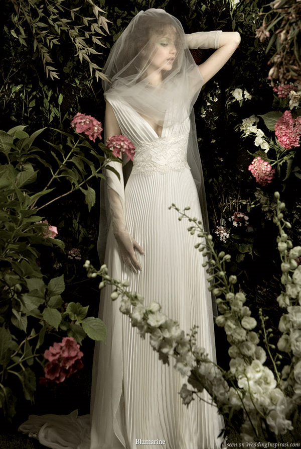 Garden of earthly delights wedding dress from Blumarine 2010 bridal