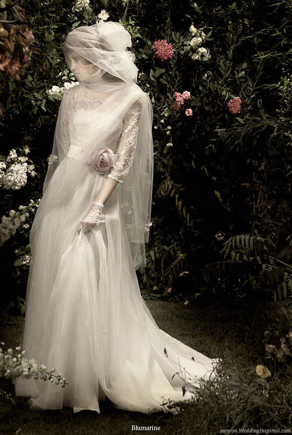 Blumarine-Vintage-Wedding-Gown