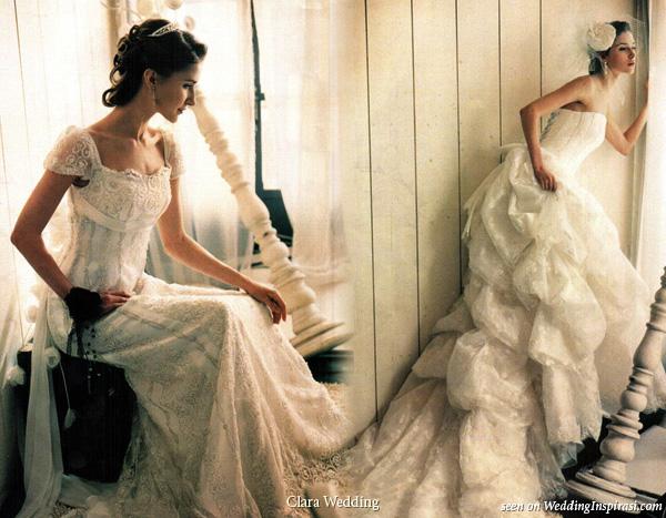 Clara Wedding Romantic Bridal Gowns Wedding Inspirasi