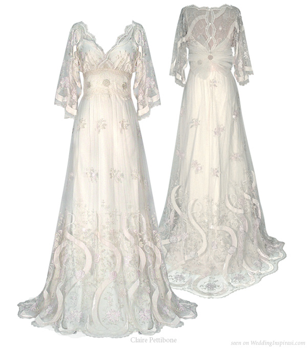 Kimono Wedding Gown: Claire Pettibone Cherry Blossom 2010 Bridal Collection